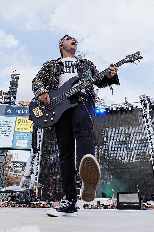 . Avenged Sevenfold  live at Comerica Park in Detroit, Michigan on 7-12-2017., Ken Settle, Photo Credit: Ken Settle