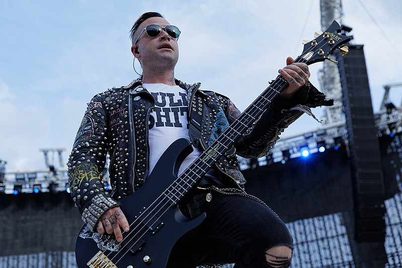 . Avenged Sevenfold  live at Comerica Park in Detroit, Michigan on 7-12-2017., Ken Settle, Photo Credit: Ken Settle