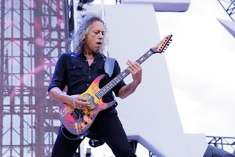 . Metallica,  live at Comerica Park in Detroit, Michigan on 7-12-2017., Ken Settle, Photo Credit: Ken Settle