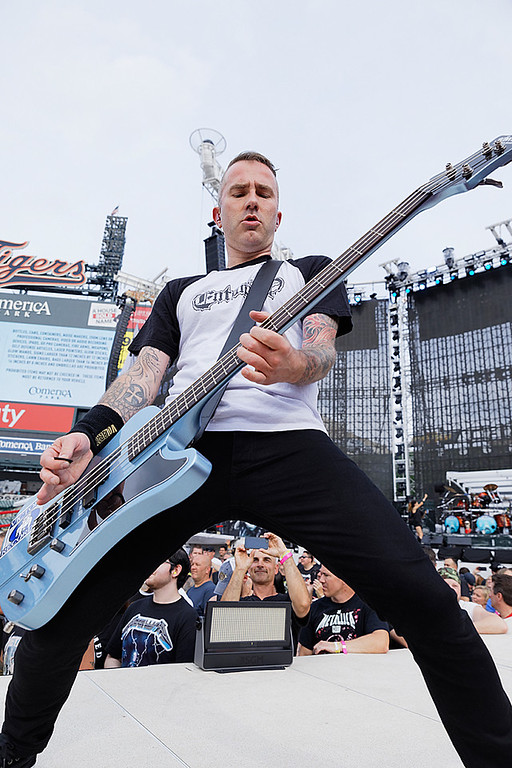 . Volbeat  live at Comerica Park in Detroit, Michigan on 7-12-2017., Ken Settle, Photo Credit: Ken Settle