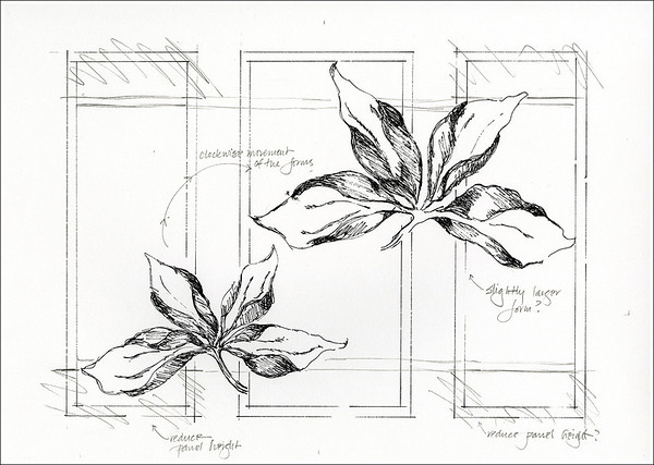 Imaginary Botanicals:  Botanical Study 5