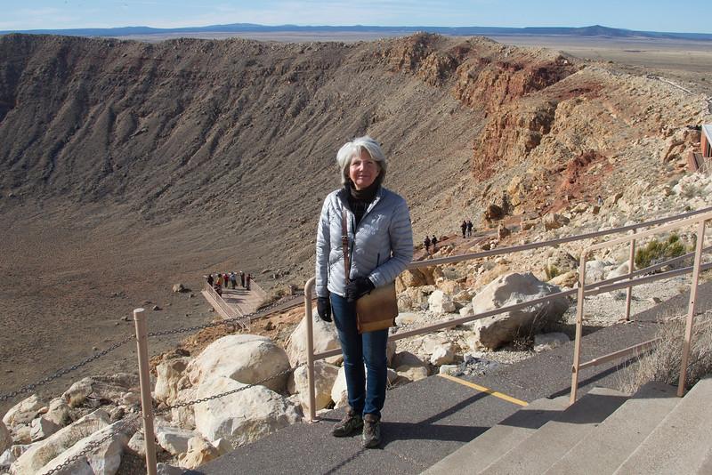 Meteor Crater, near Flagstaff, Arizona