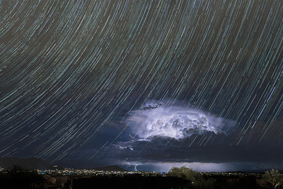 MilkyWay to Star Trails and Meteors
