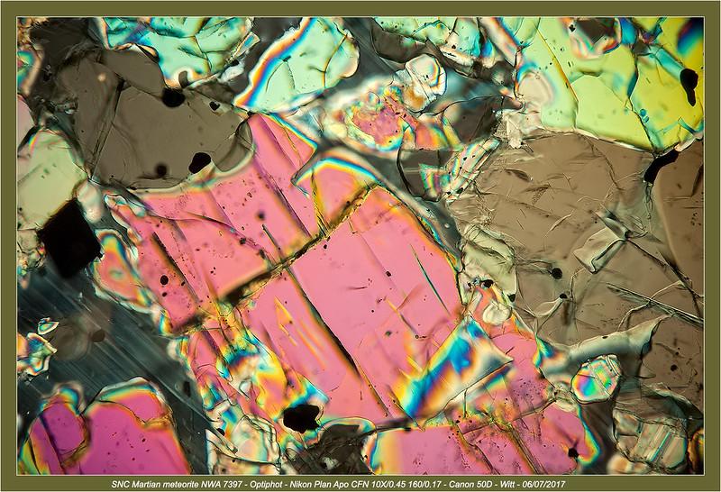 SNC Martian meteorite NWA 7397