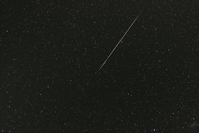 This bright Capricornide meteor of magnitude -5 was also seen visually.