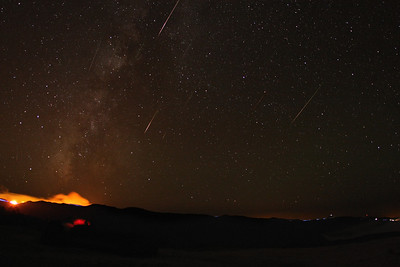 Perseids   Meteors shower seen from Madeira