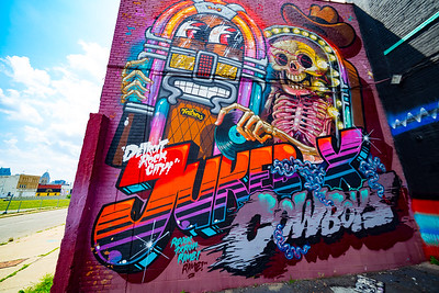 Detroit Saturated Graffiti