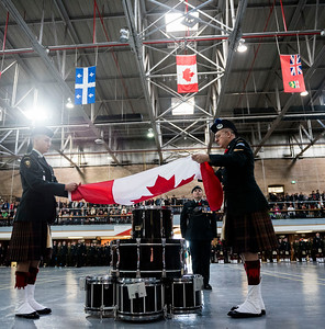 It was standing room only during the annual Remembrance Day Parade at Minto Armoury Friday November 11, 2016.(David Lipnowski for Metro News)