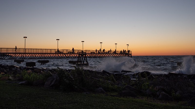After Sunset at the Pier