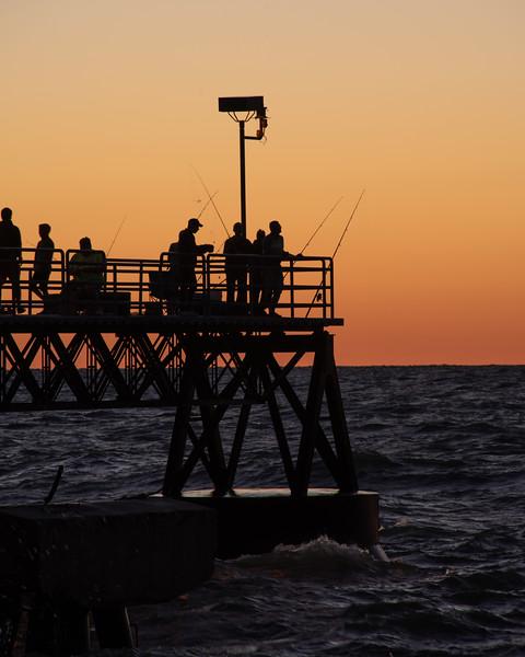 Evening of Fishing
