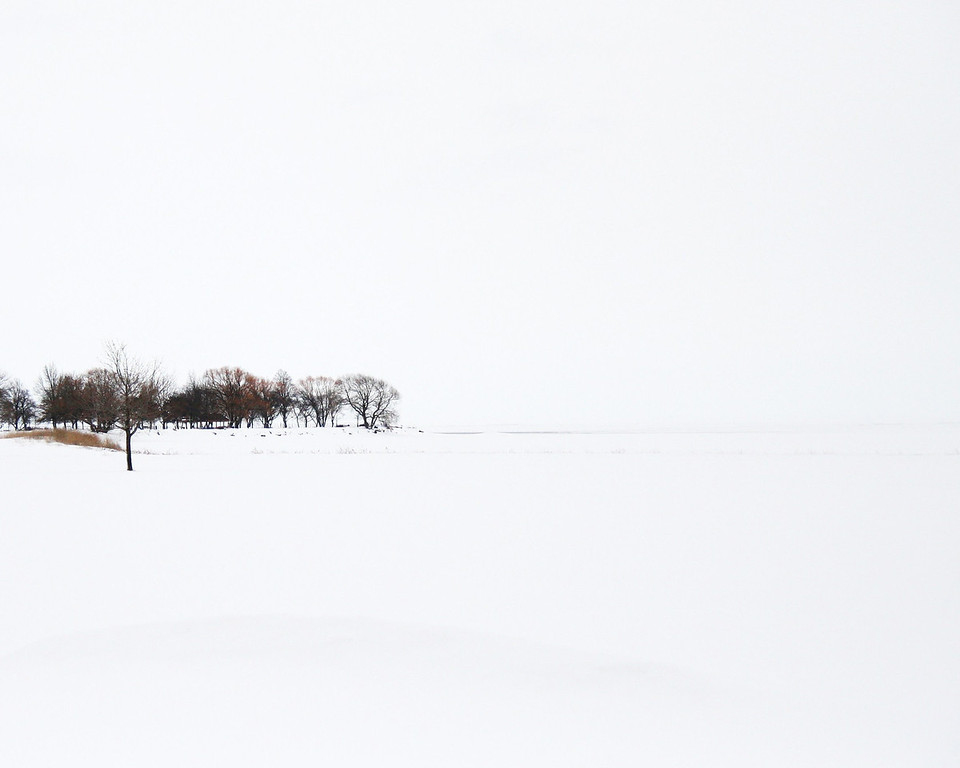 Metro Beach on a snowy day
