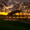 Steiger lake Victoria, MN sunset