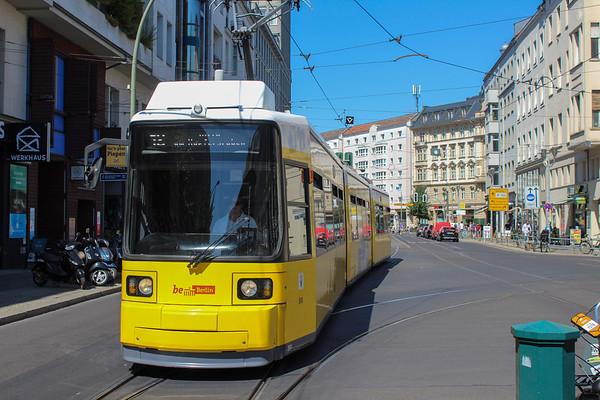 Berlin tram system