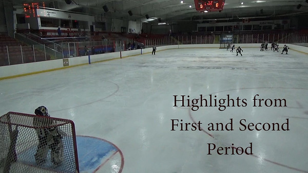 Highlights from First and Second Period