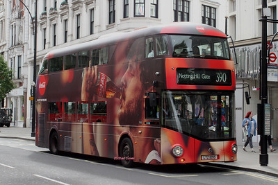 LT95, LTZ1095, Metroline, Oxford Street, Central London