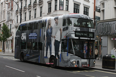 LT12, LTZ1012, Metroline, Oxford Street