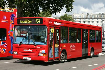 DLD709, LK55KMJ, Metroline, Marble Arch