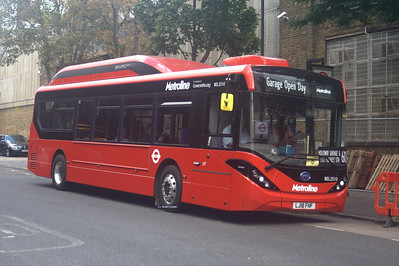 BEL2510, LJ18FHF, Metroline, Holloway Garage.