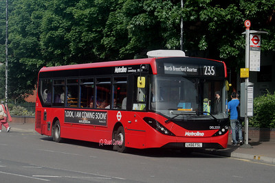 DEL2251, LK66FSL, Metroline, Hounslow Town Centre