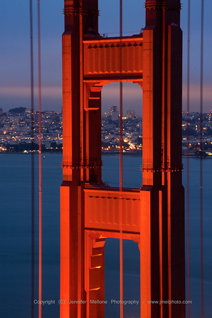 Glow of the North Tower - Golden Gate Bridge