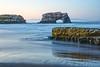 Natural Bridges with Mossy Rock Sunrise