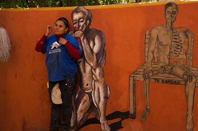 Mural in  Guanajuato, Mexico