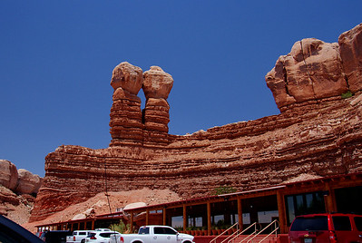 Twin Rocks Trading Post, Bluff, Utah