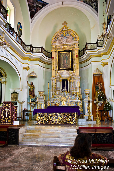 The Parish Church dedicated to Our Lady of Guadalupe.