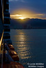 Sunrise over Puerto Vallarta, as seen from cruise ship.