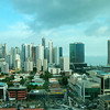 Panama City Skyline and the bay from my room on the 18th floor of the Marriot Hotel