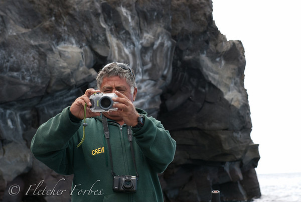 Jeronimo, chief panga driver and picture taker