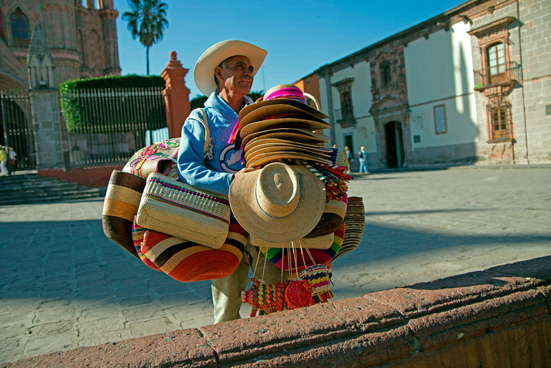 Everyone Needs a Hat in San Miguel!