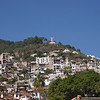 Christ Monument Overlooking Central Taxco