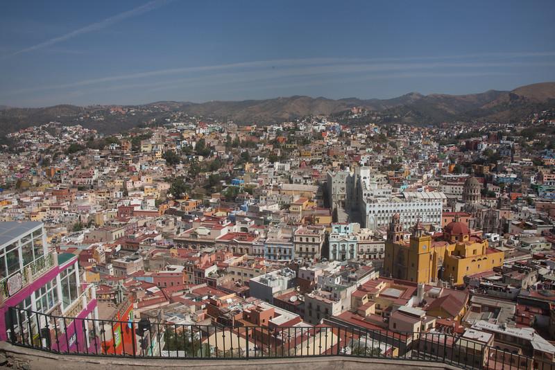 Guanajuato from Scenic Viewpoint