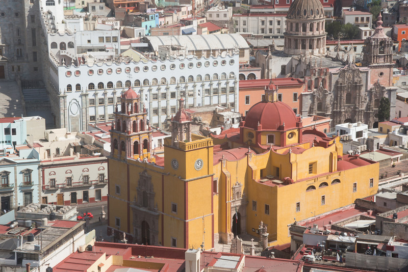 Iglesia de San Diego in Guanajuato