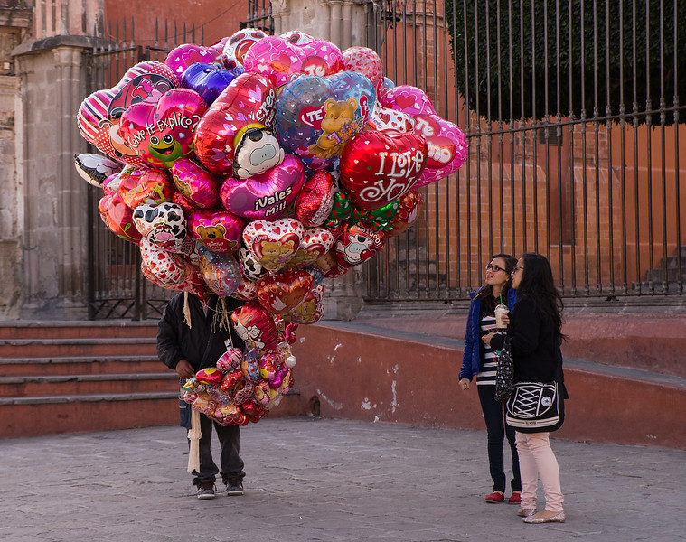 Valentine's Day in San Miguel