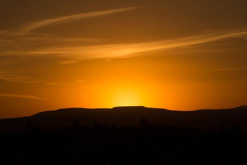 Sunset from La Paradito