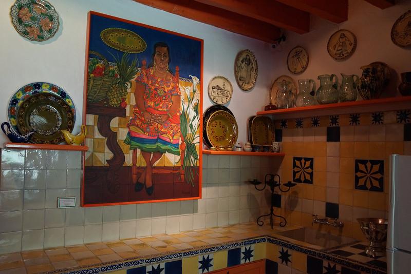 Robert Brady Museum kitchen