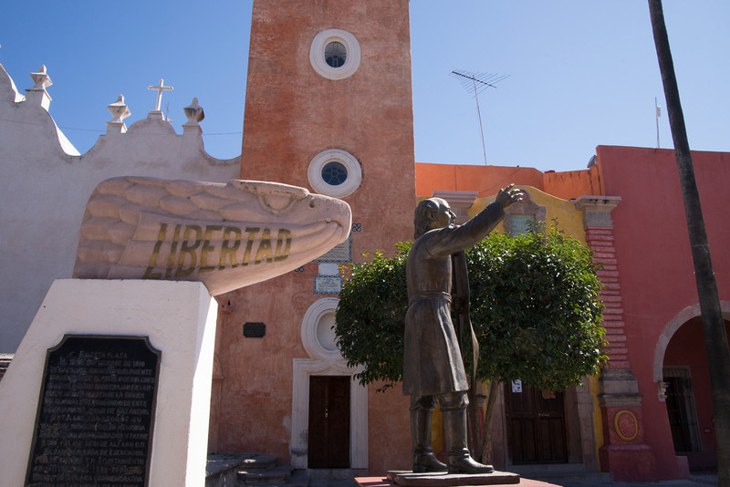 Hidalgo - the priest who rallied the indigenous people to join the War of Independence from Spain