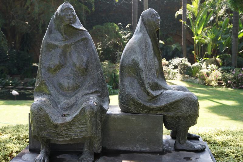 Sculpture at Las Mananitas