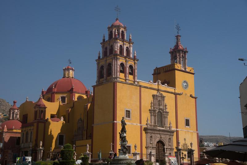 Church of San Diego  in Guanajuato