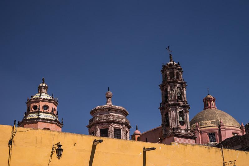 Church Steeples of San Miguel