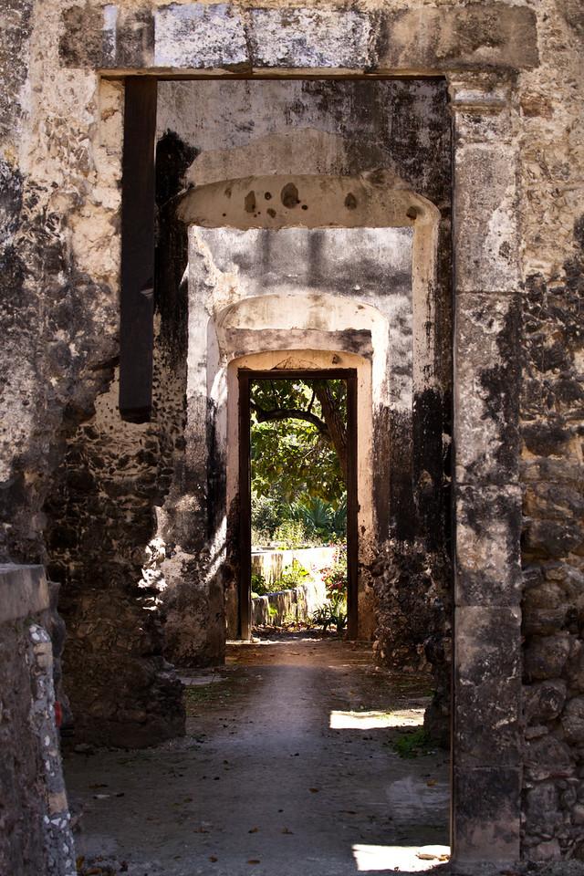 Doors through the ruins