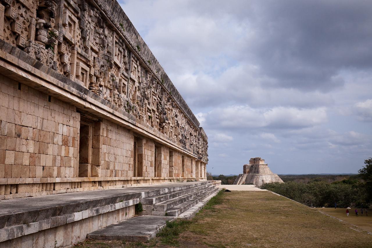 Palace and Pyramid
