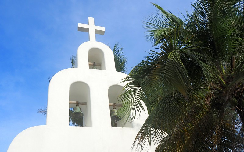 Chapel in Playa del Carmen.