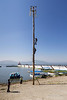 Getting the pole ready for Danza de los Voladores (Dance of the Flyers), Lake Chapala, Mexico