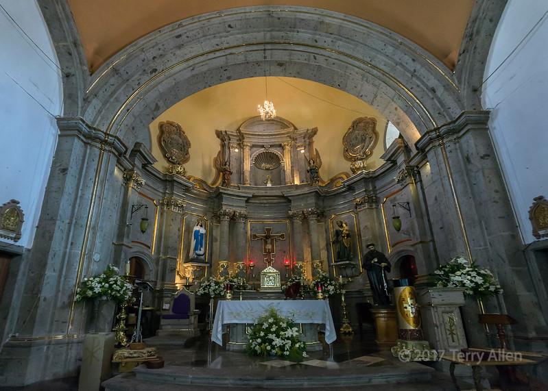 Parroquia de San Francisco de Asís altar, Chapala, Jalisco, Mexico
