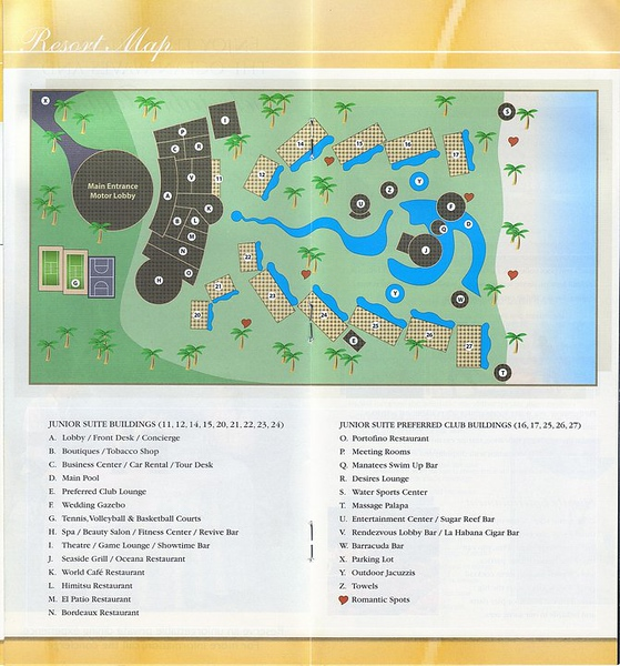Secrets Maroma Map<br /> <br /> Please contact Romance@SandnSunVacations.com for more information on Secrets Maroma or for any of the Secrets, Dreams, or Now properties.
