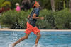 Mayan Palace Pool Boy Runs on Water Marked