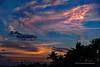 Mayan Palace Beach Sunset Sky Marked